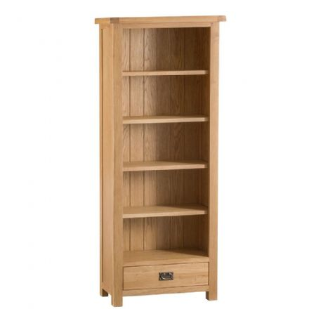 Oslo Oak Medium Bookcase